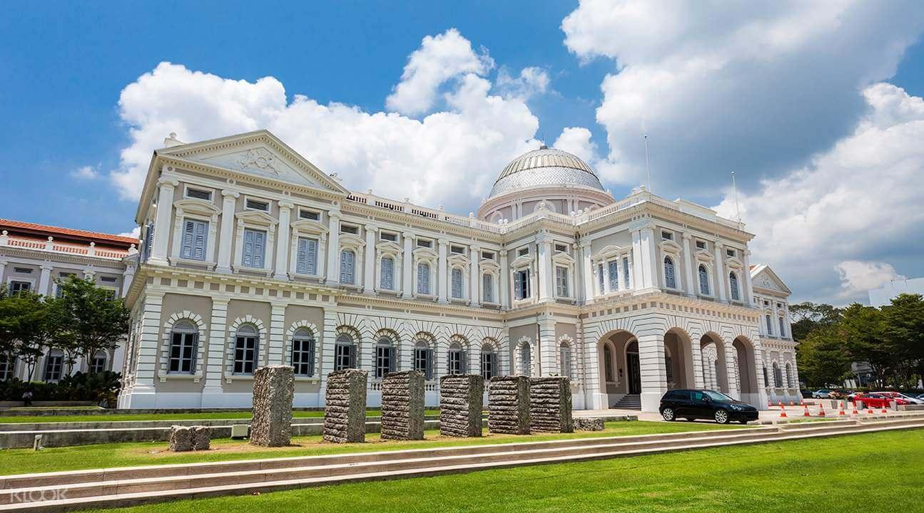 - Viện bảo tàng tại Singapore