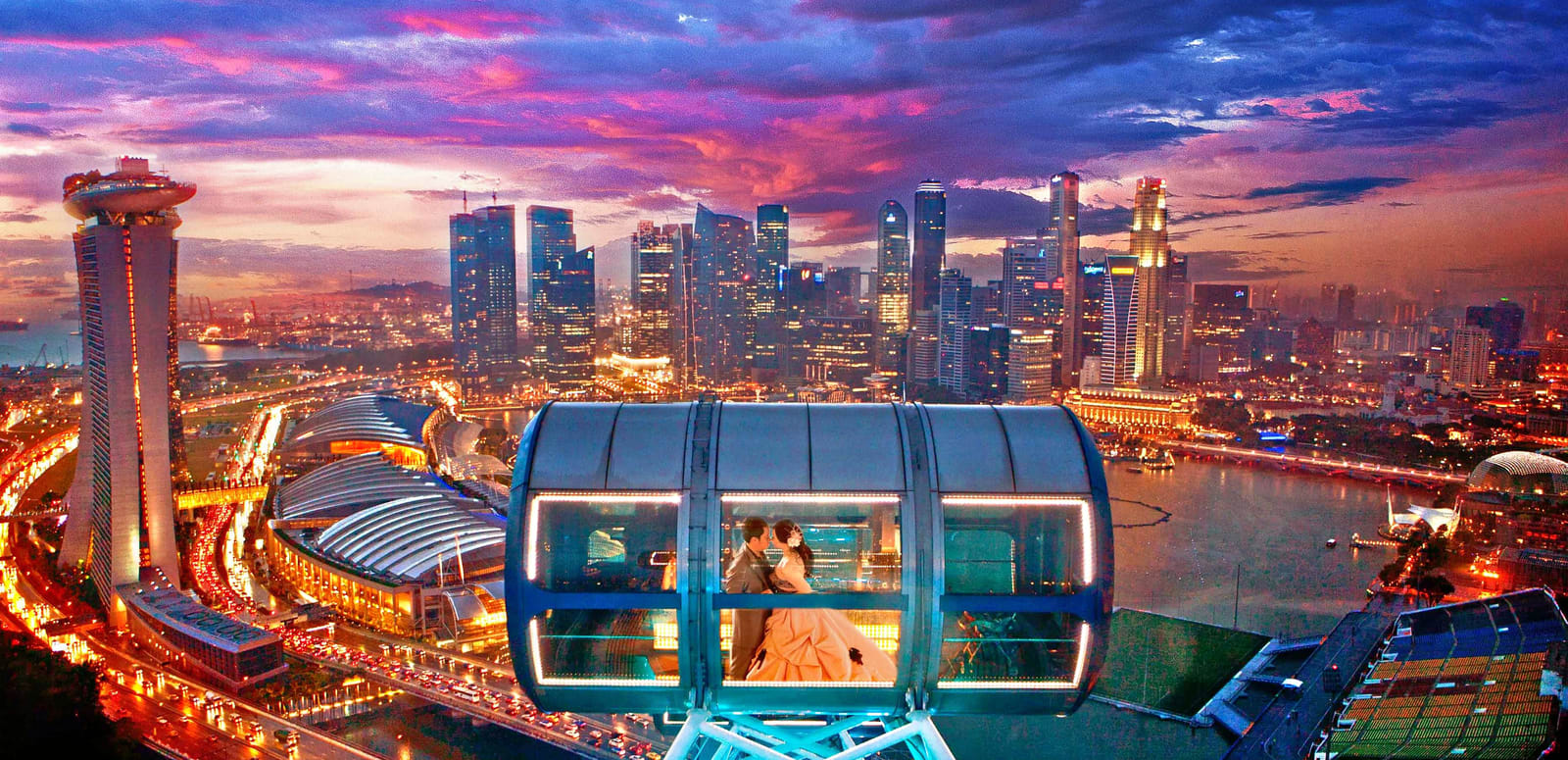 Marina Bay Sands ở Singapore