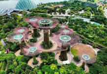 Công viên xanh ở Singapore