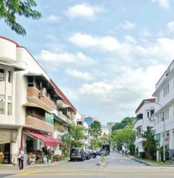 Tiong Bahru ở Singapore