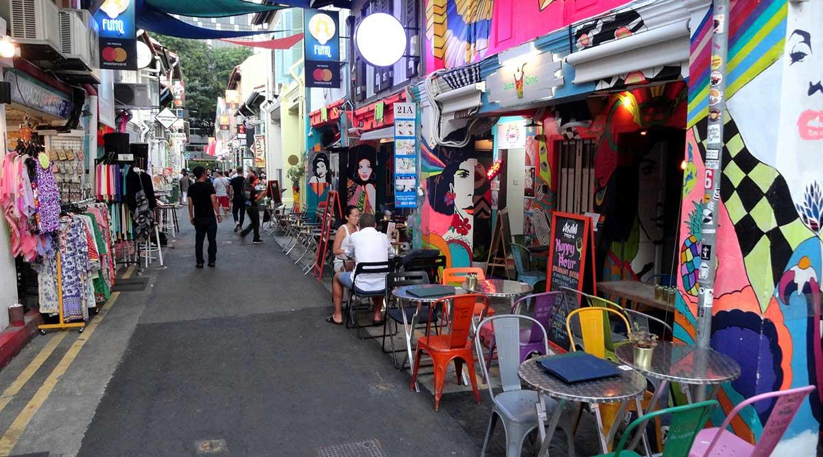 mua sắm khi du lịch Singapore