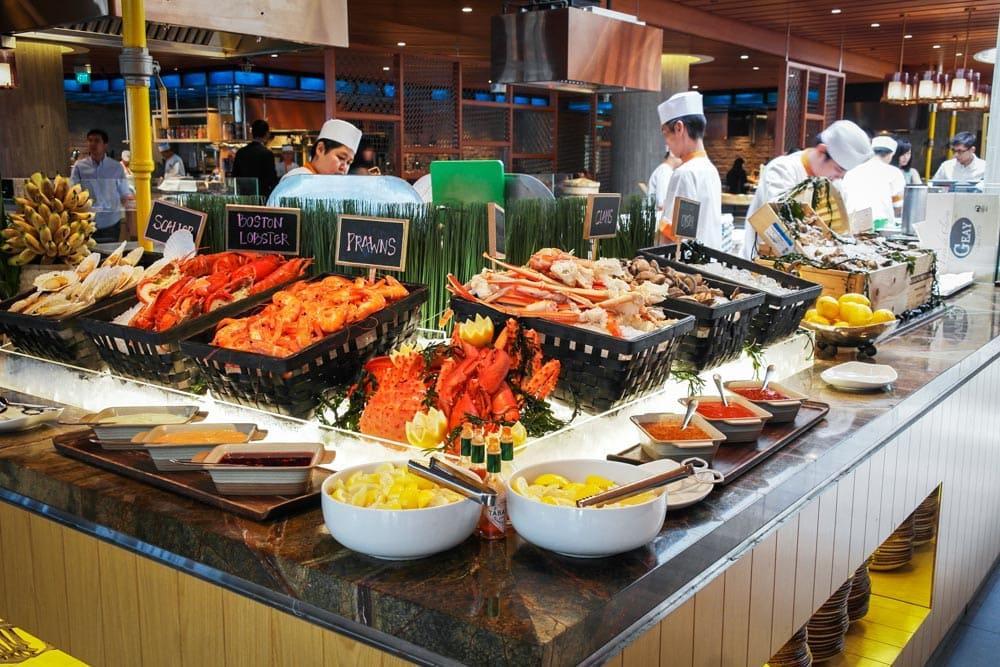 nhà hàng buffet ở singapore
