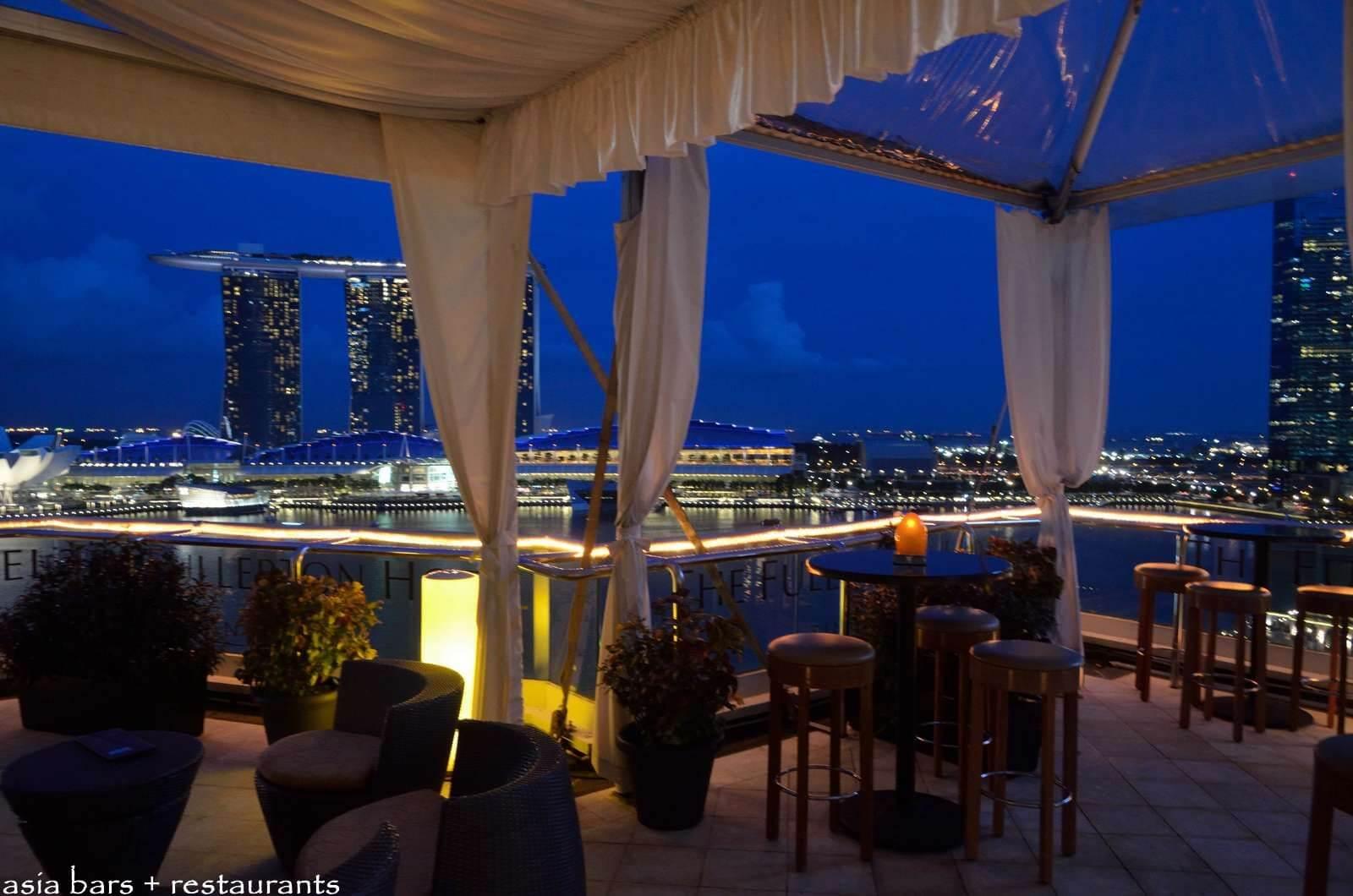 Nhà Hàng View Thành Phố Ở Singapore