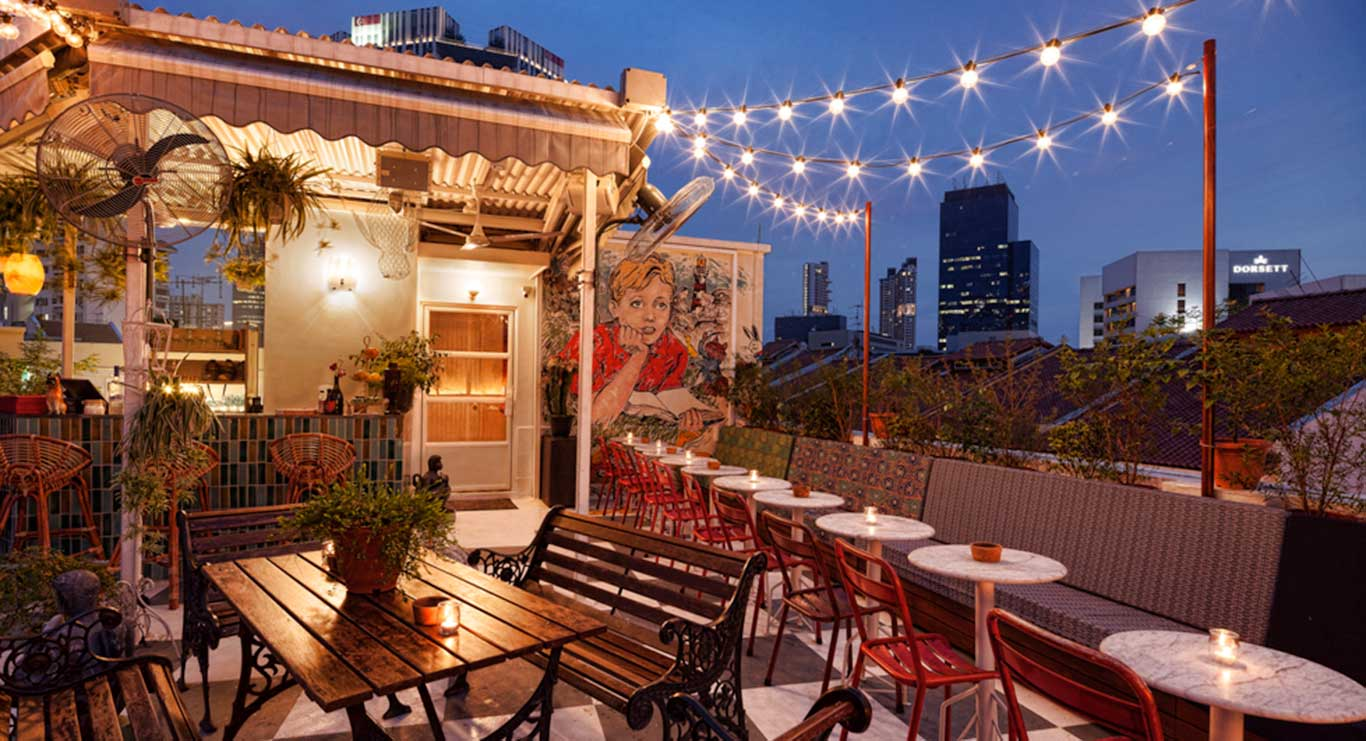 Quán Bar View Đẹp Ở Singapore
